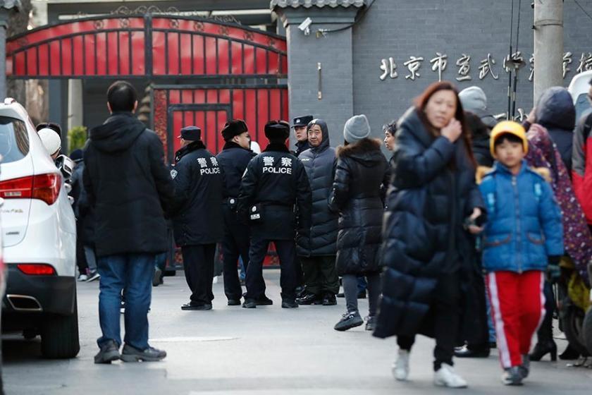 Çin'de ilkokula bıçaklı saldırı sonucu 20 öğrenci yaralandı