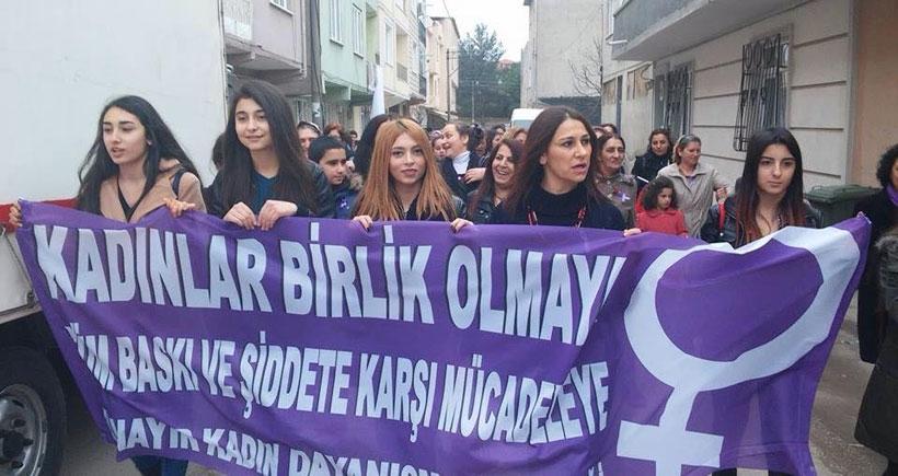 8 Mart'ta şiddete ve sömürüye karşı sokağa çıkma çağrısı