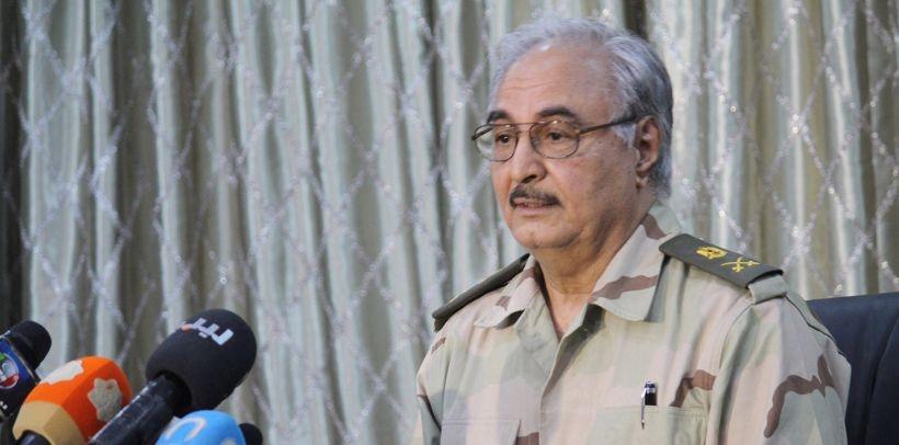 General Hafter, genelkurmay başkanlığına getirildi