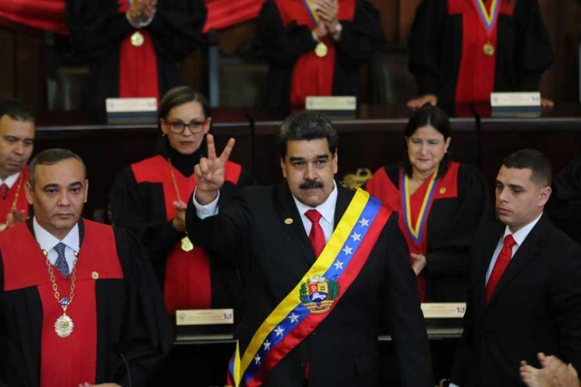 Venezuela'da Maduro devlet başkanlığı için yemin etti