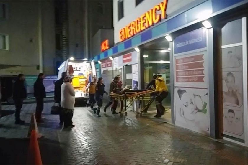 Tekirdağ'da, eli temizleme makinesine sıkışan işçi yaralandı