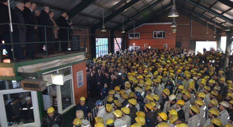 Kozlu'da grizu katliamında ölen 263 maden işçisi anıldı