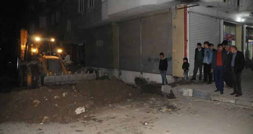 Cizre'de tüm hendekler kapatıldı