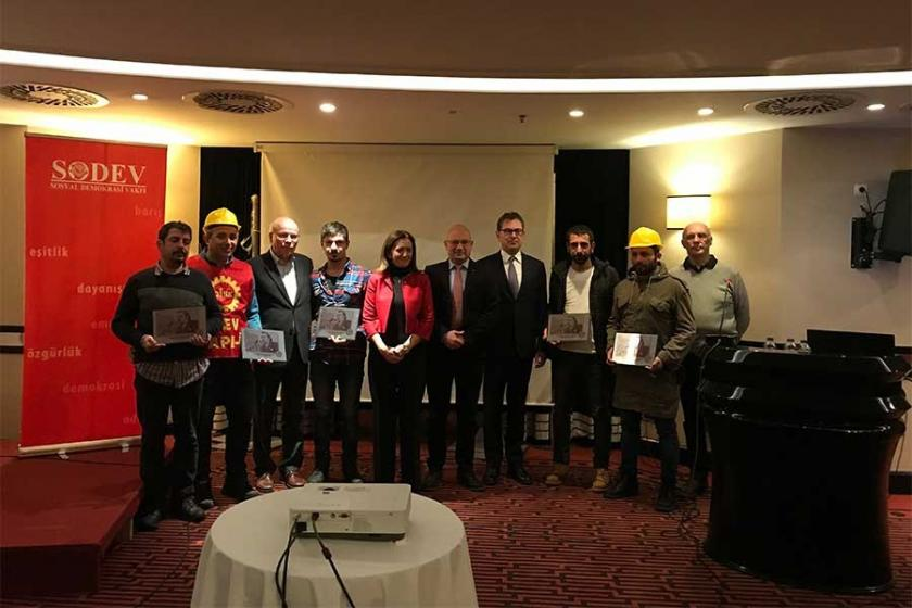 SODEV İnsan Hakları Ödülü 3. Havalimanı İşçilerine verildi
