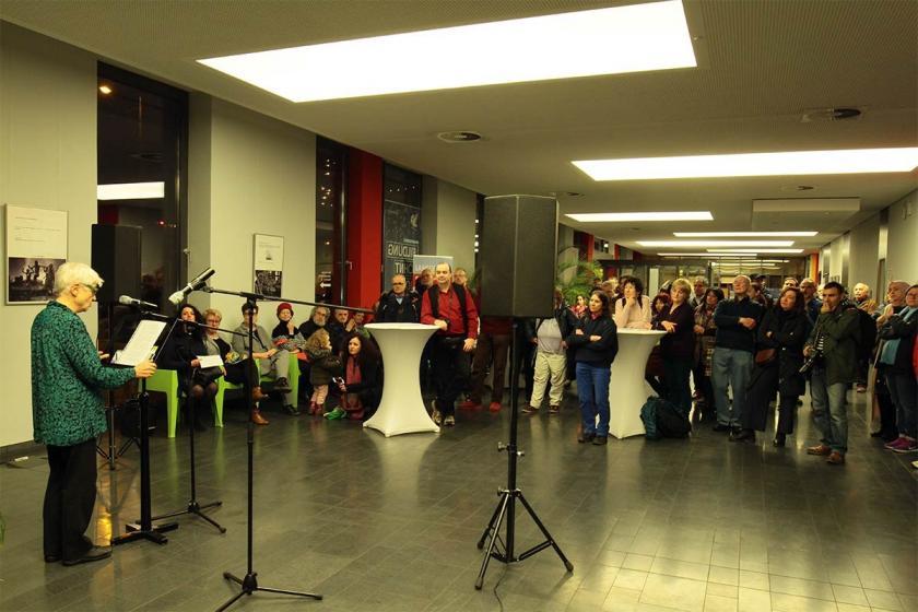 'Düşler tutsak edilemez' fotoğraf sergisi Mannheim'da