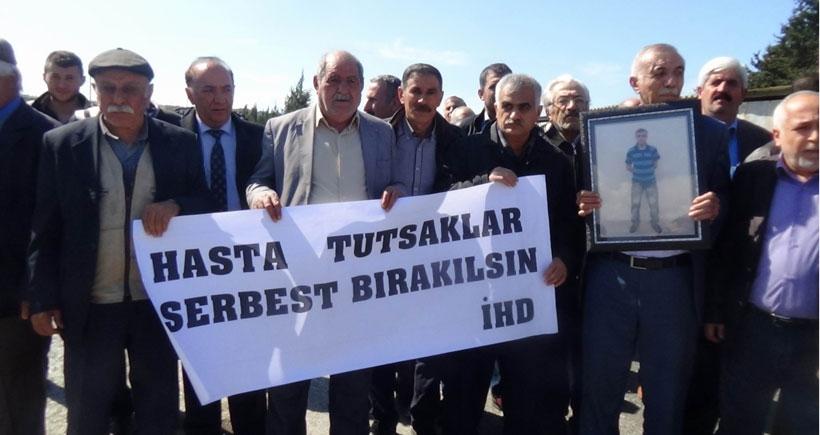 Hasta tutuklu Tutmaz'ın durumu ağırlaşıyor
