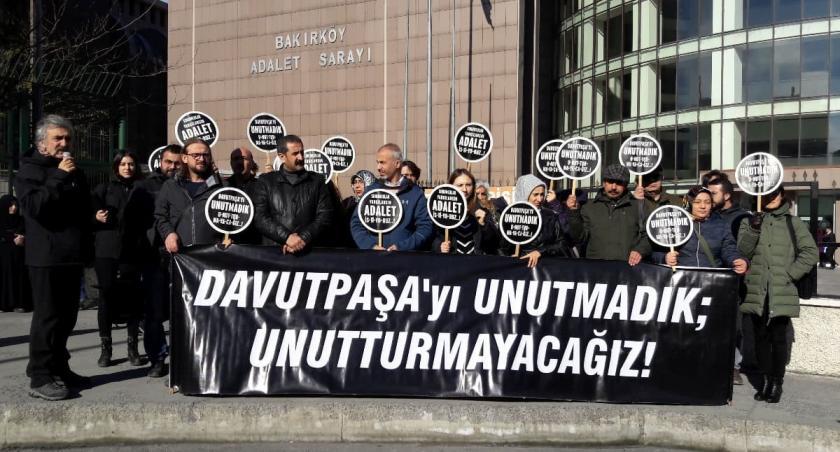 Davutpaşa katliamı davasında 2 sanığa 10'ar ay hapis cezası verildi