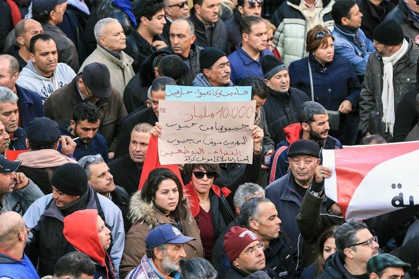 Tunus'ta öğretmenler çalışma koşullarının iyileştirilmesini istiyor