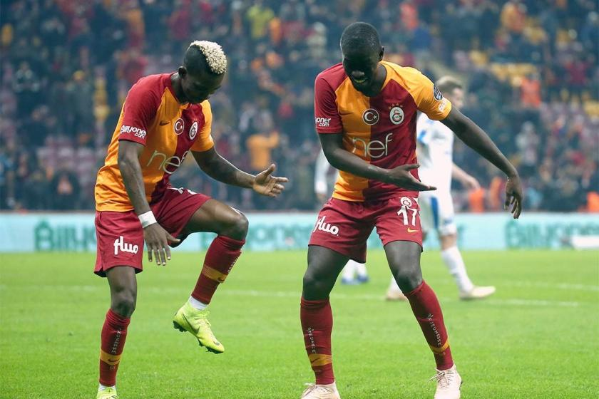 Galatasaray, MKE Ankaragücü'nü 6-0'la geçti