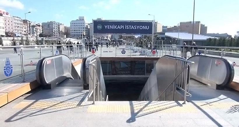 Taksim - Yenikapı metro seferleri 1,5 saat yapılamadı
