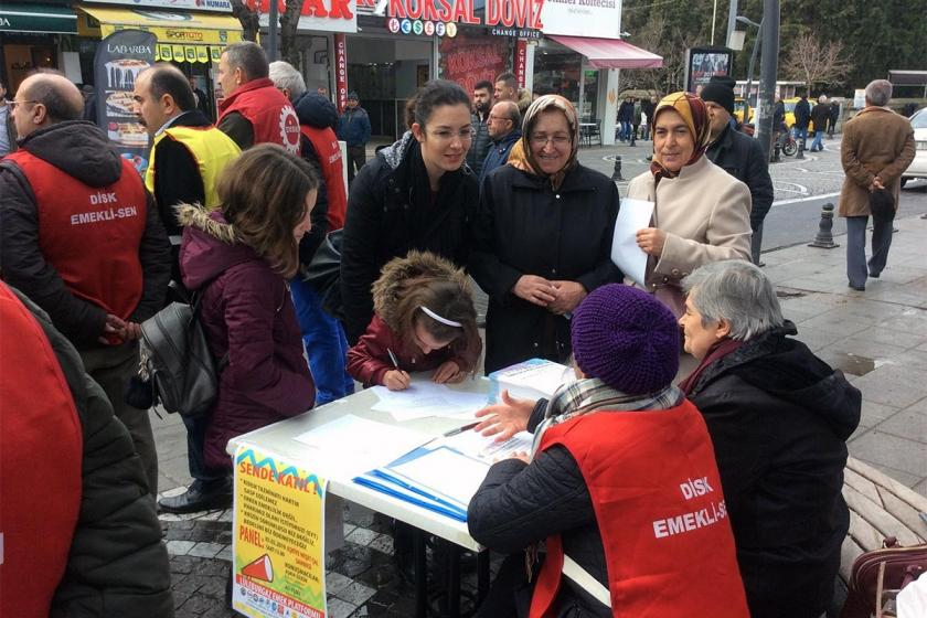Lüleburgaz Emek Platformu, EYT ve kriz için kampanyası başlattı