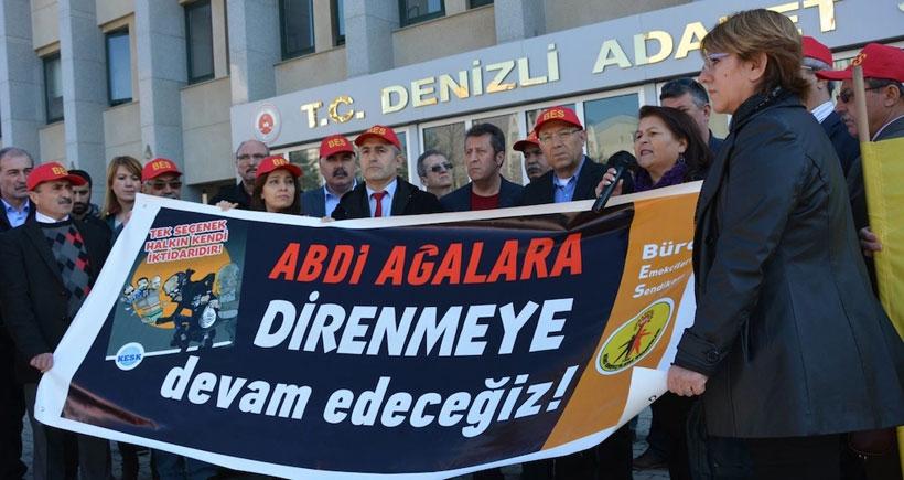 Sendikacı Erdoğan'a hakaret davasından beraat etti