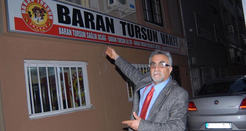 Baran Tursun'un ailesine gelen haczi, Gezi dayanışması kaldırdı