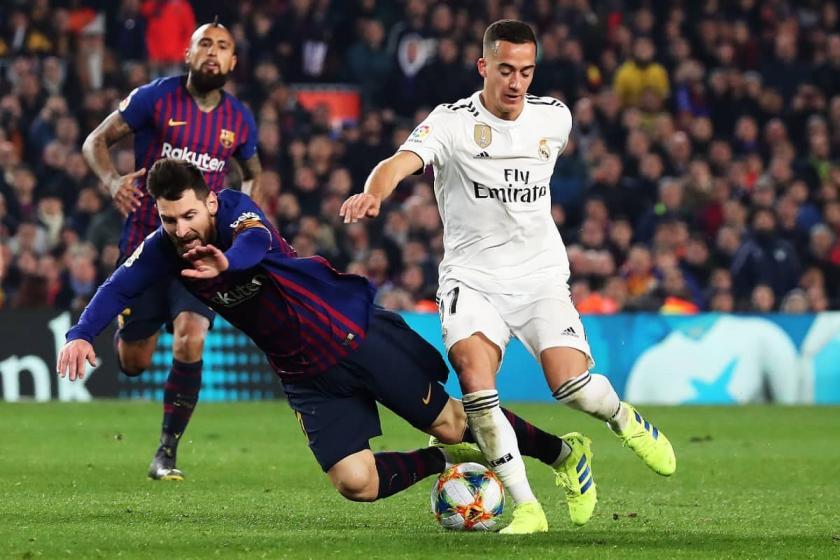 Kral Kupası yarı finalinde Barcelona ile Real Madrid berabere kaldı