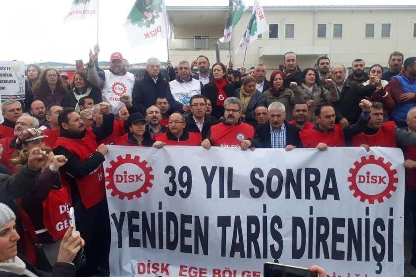 TARİŞ işçilerine cezaya tepki: Yargılanması gereken TARİŞ yönetimidir