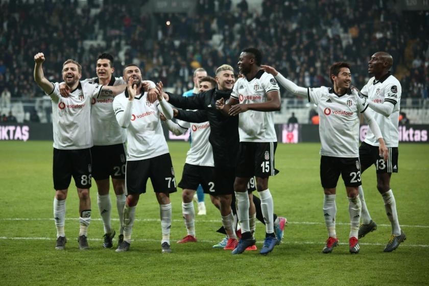 Beşiktaş, Bursaspor'u 2-0 mağlup etti
