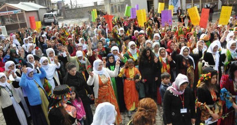 Dünya kadınları Nusaybin'de sınırı kaldıracak