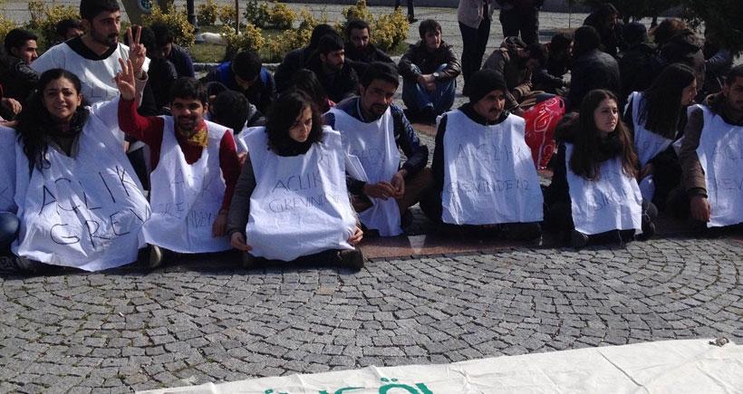 Üniversitelerde açlık grevleri yayılıyor
