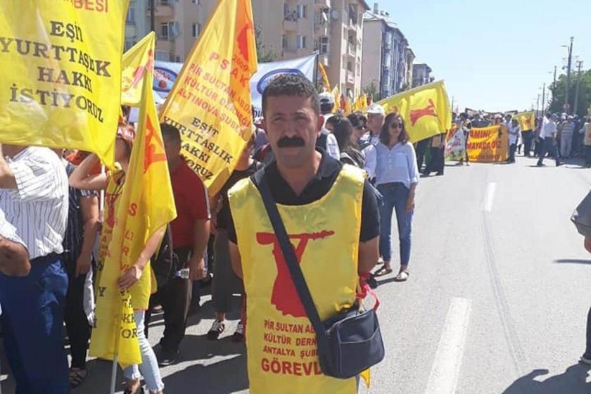 Antalya'da PSAKD yöneticisi gözaltına alındı