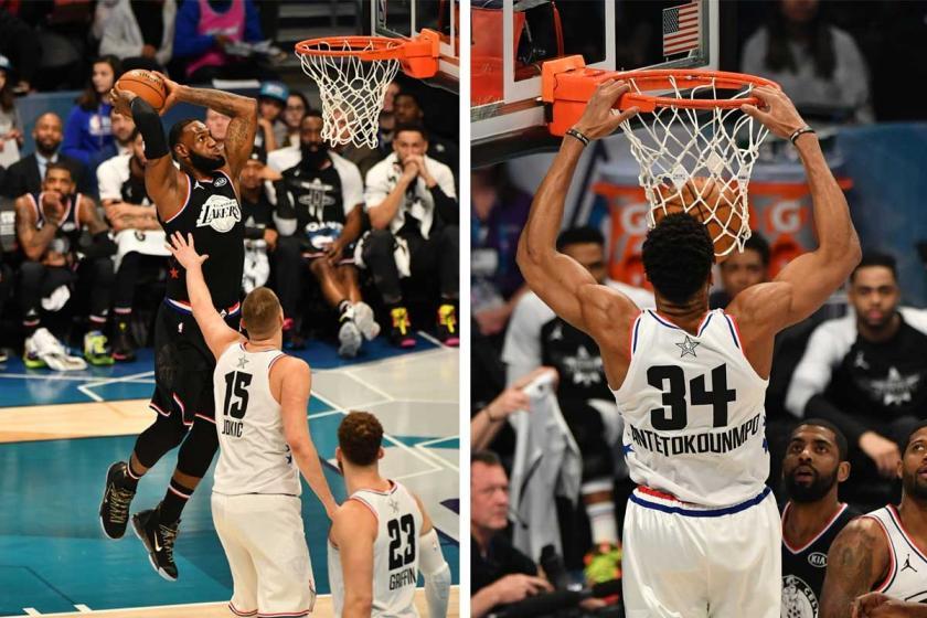 2019 NBA All-Star'da LeBron'un takımı kazandı, Durant MVP oldu