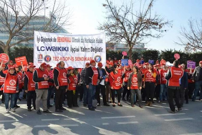 Tez Koop-İş örgütlenme çalışmalarında uğradıkları baskıları protesto edecek