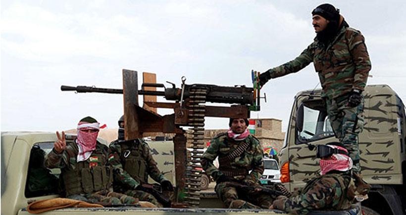 'Peşmerge, Şengal'de savunma pozisyonunda'