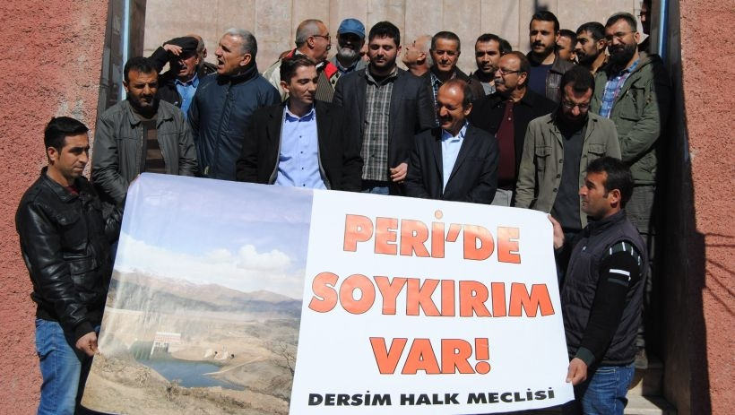 Dersim Halk Meclisinden kaçak baraj tepkisi