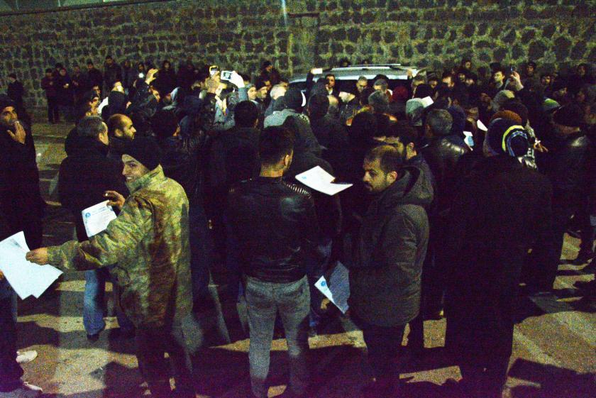 Antep OSB'de Canan Tekstil işçileri zam talebiyle iş bıraktı