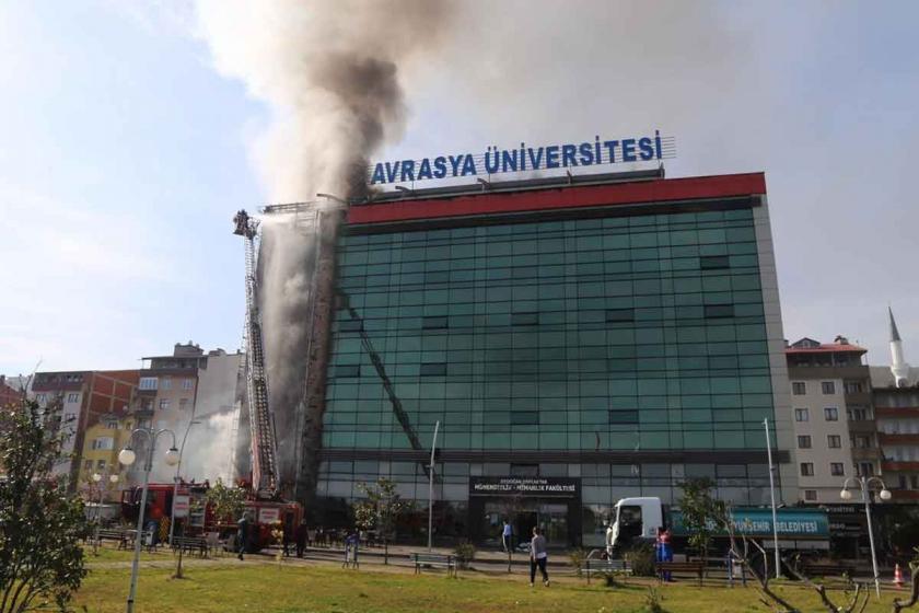 Avrasya'daki yangın ateşe dayanıklı kaplama kullanılmadığı için büyüdü