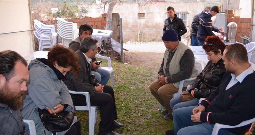 Didim'deki iş cinayeti protesto edildi