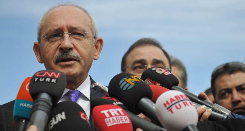 Kılıçdaroğlu: Anlaşılan AKP Davutoğlu'dan memnun değil
