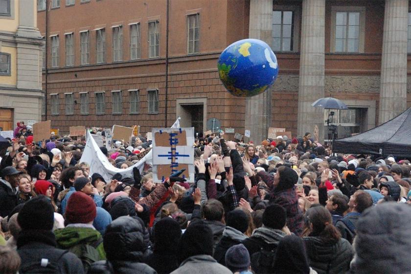 Thunberg siyasetçileri bu kez Fransa'dan uyardı: İklim için bilimle birleşin