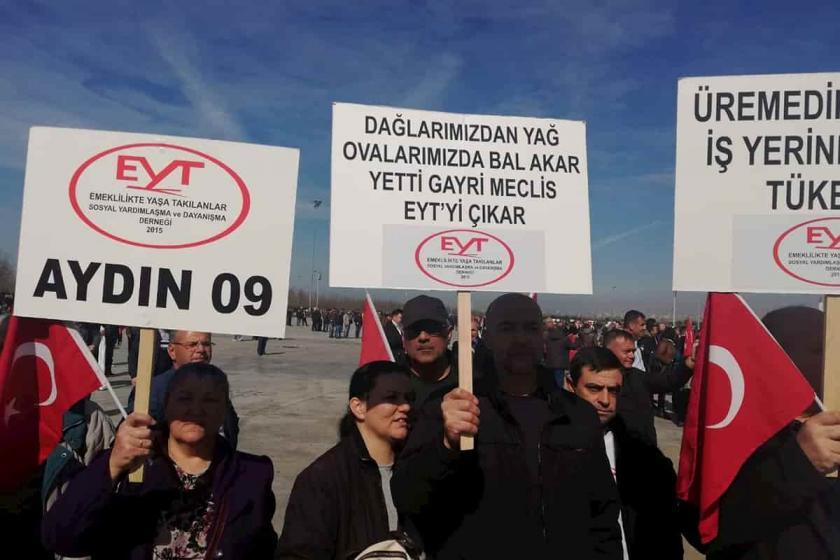 CHP'li Barut: EYT mağdurları yalnız ve sahipsiz değildir