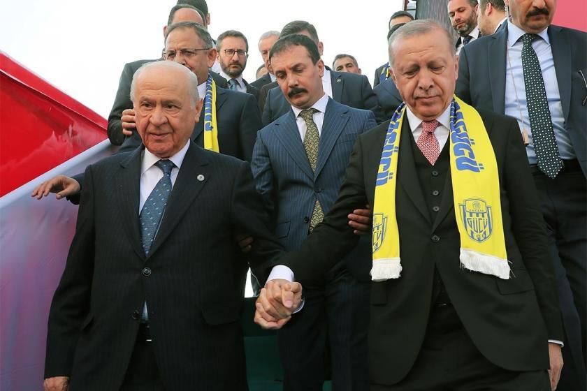 MHP, AKP'ye karşı aday çıkardığı kentlerden 9'unda önde