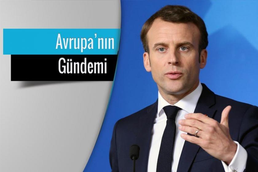 Macron, Avrupa'nın savaş şefi olmayı hayal ediyor