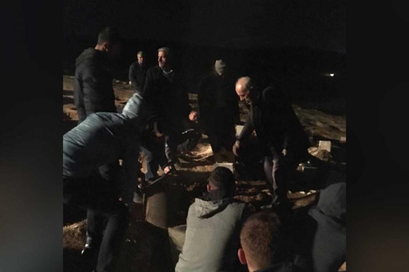 Ayten Beçet'in cenazesi gece yarısı jandarma ablukasında defnedildi