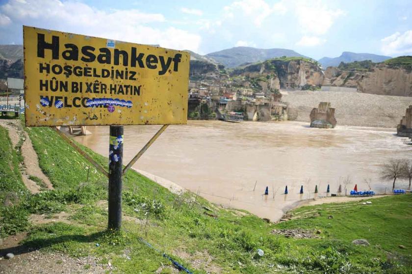 'Hasankeyf'teki yıkım kriz nedeniyle durduruldu' iddiası