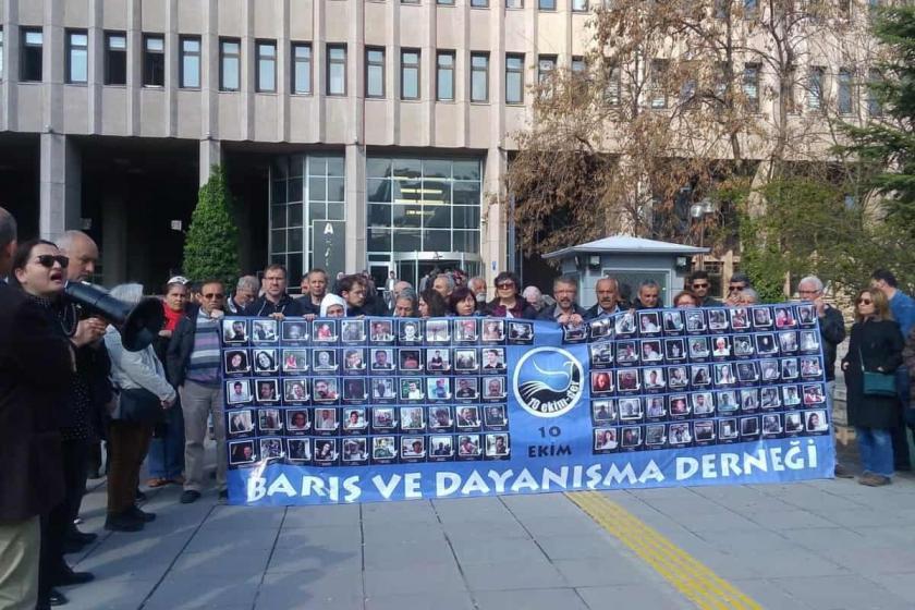 10 Ekim Davası: Sanıklar yakalanmadı, tanıklar konuşturulmadı