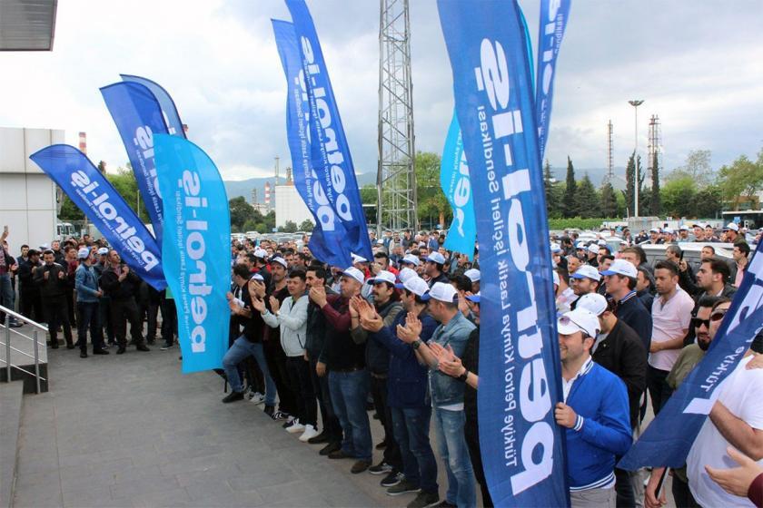 TÜPRAŞ işçileri, Petrol-İş'in iradelerinin arkasında durmasını istiyor