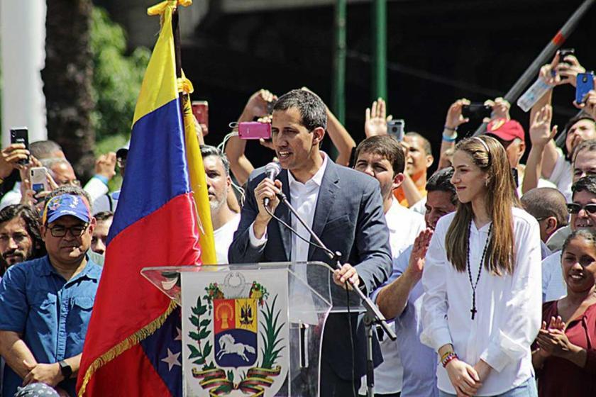 Venezuela'da sağcı lider Guaido, ABD ordusu ile 'iş birliği' istiyor