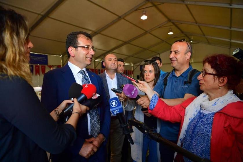 İmamoğlu'dan YSK açıklaması: Seçim kazananı şu an kameralara konuşuyor