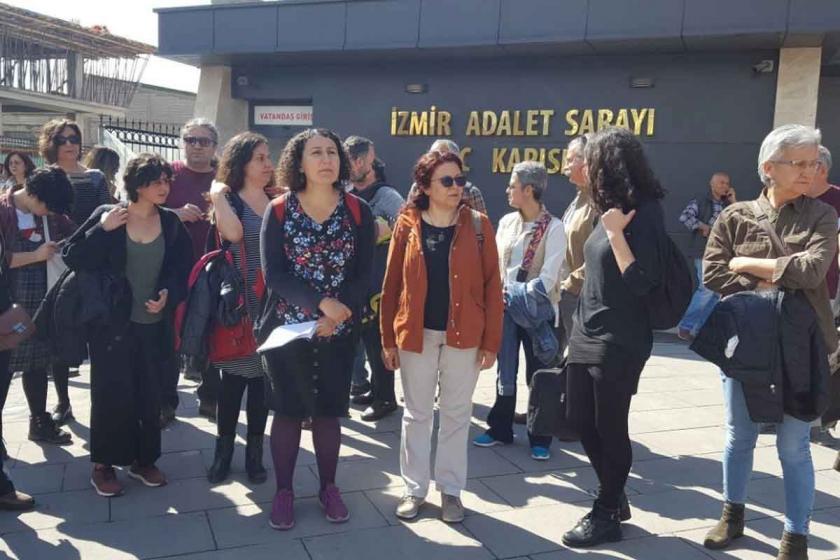 Arşivine el konulan SES üyesi Sevgi Türkmen suç duyurusunda bulundu