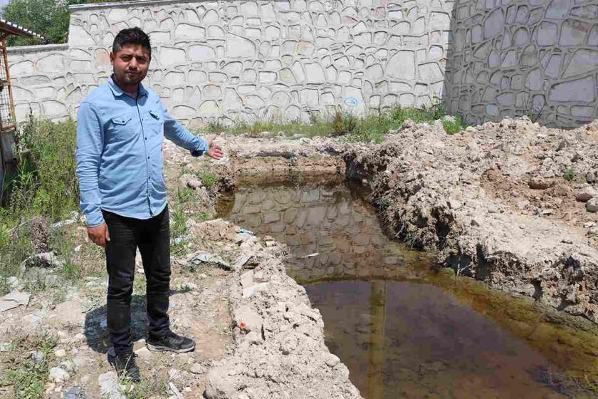 Denizli Acıpayam depreminden sonra yüzeye zehirli su çıkmaya başladı
