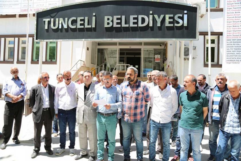 Dersim'de mazbataları iptal edilen meclis üyeleri için açıklama