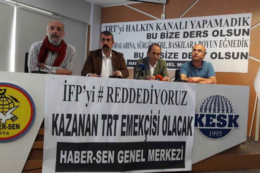 TRT'de 169 kişi kadrolaşma için 'istihdam fazlası' olarak bildirildi