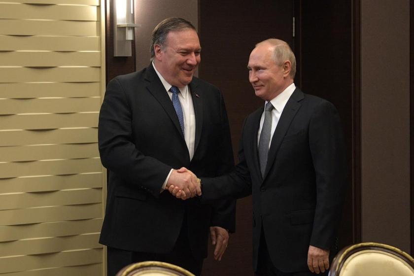 Rusya Devlet Başkanı Putin, Pompeo ile görüştü