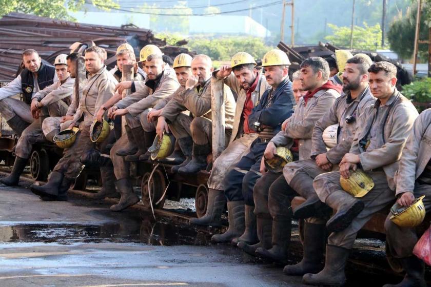 Zonguldak'ta 2010'da grizu faciasında ölen 30 madenci anıldı