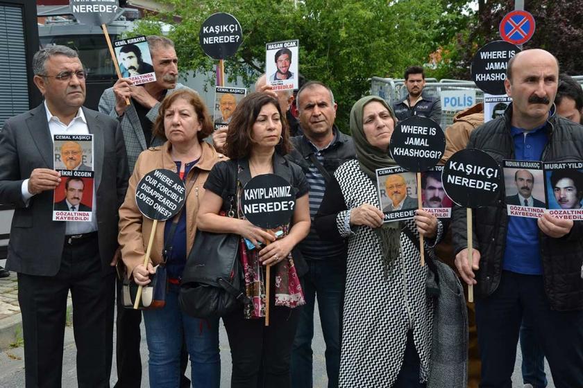 Kayıplar Haftası etkinlikleri Kaşıkçı'nın kaybedildiği yerde başladı