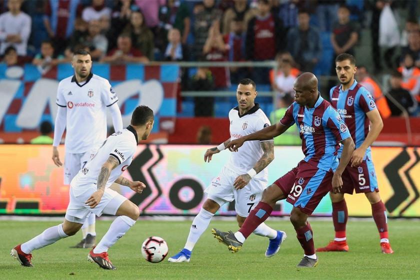 Trabzonspor, konuk ettiği Beşiktaş'ı 2-1 mağlup etti