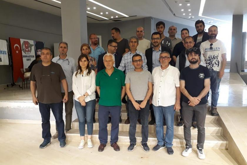 Türkiye Gazeteciler Sendikası Adana Şube kongresi yapıldı